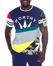 WORTHY - S/S Worthy Cut & Sew Tee (B&T)-2366274