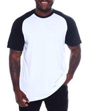 Big & Tall - S/S Mens Raglan T-Shirt (B&T)-2366408