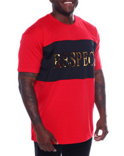 Shirts - S/S Mens Embossed Foil Tee (B&T)-2366436