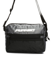 Black Pyramid - Medium Tech Shoulder Bag (Unisex)-2355258