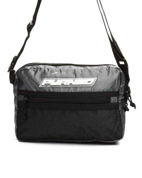 Black Pyramid - Medium Tech Shoulder Bag (Unisex)