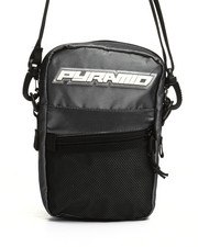 Black Pyramid - Small Tech Shoulder Bag (Unisex)-2363922