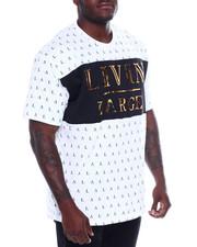 Shirts - S/S Mens Embossed Foil Tees (B&T)-2366440