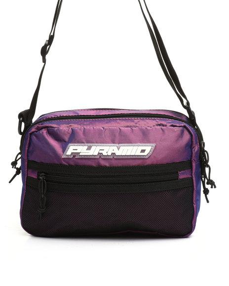 Black Pyramid - Medium Tech Shoulder Bag (Unisex)