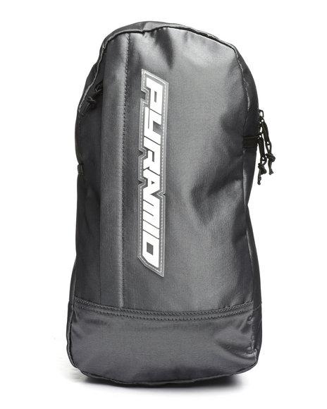 Black Pyramid - Tear Drop Cross Body Bag (Unisex)