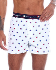 Loungewear - C Print Woven Boxers-2366567