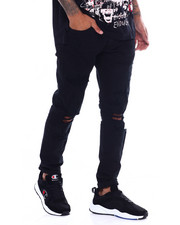 Jordan Craig - SEAN DISTRESSED SLIM FIT STRETCH JEAN-2366470