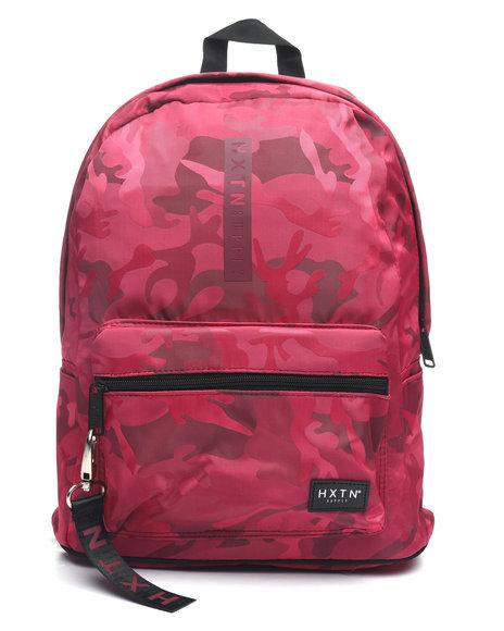 HXTN Supply - Camo Crimson Backpack