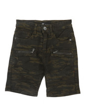 Boys - Moto Shorts W/ Zippers (8-20)-2366361