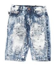 Bottoms - Ripped Denim Shorts (8-20)-2366714