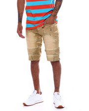 Buyers Picks - TINT WASH MOTO DENIM SHORT-2367052