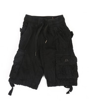 Bottoms - Rib Waist Shorts (2T-4T)-2366703