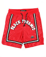 Black Pyramid - Arched Drip B Ball Shorts (5-18)-2366658