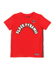 Sizes 8-20 - Big Kids - Arched Drip B Ball T-Shirt (5-18)-2366651