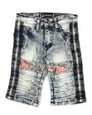 Boys - Stretch Shorts w/ Stripes (4-7)-2366610