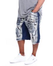 Shorts - Ripped Denim Short (B&T)-2367230
