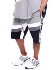 Makobi - Makobi Jersey-Ultra Suede Shorts (B&T)-2367302
