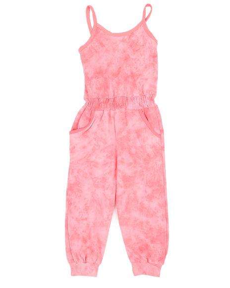 Kensie Girl - Janis Tie Dye Jumpsuit (7-16)