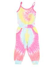 Kensie Girl - Janis Tie Dye Jumpsuit (7-16)-2366389