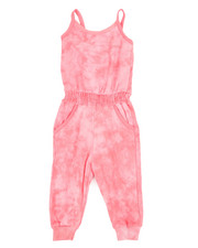 Overalls & Jumpers - Janis Tie Dye Jumpsuit (2T-4T)-2366396