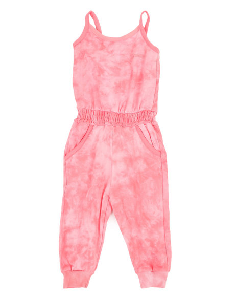 Kensie Girl - Janis Tie Dye Jumpsuit (2T-4T)