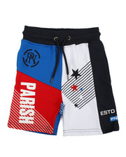 Boys - Color Block Shorts (2T-4T)-2364977