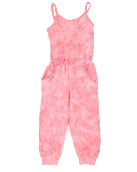 Kensie Girl - Janis Tie Dye Jumpsuit (4-6X)