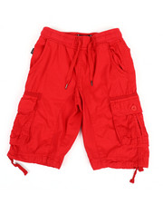 Sizes 8-20 - Big Kids - Rib Waist Shorts (8-20)-2366601