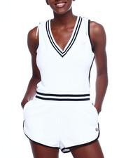 Jumpsuits - Terry Cloth Romper-2366527