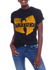 Graphix Gallery - Wu-Tang Logo S/S Oversized Tee-2367029
