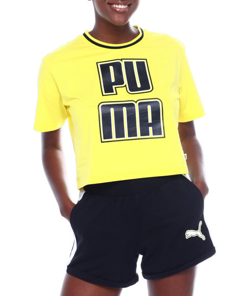 Puma - Rebel Reload Crop Tee