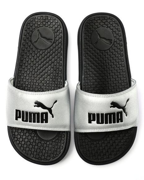 Puma - Cool Cat Metallic Slide Sandals