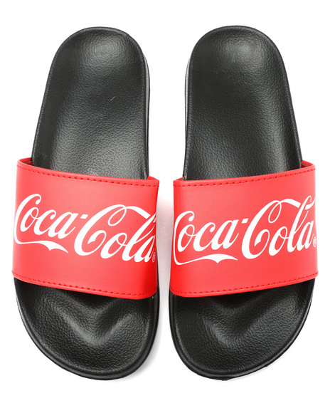 Buyers Picks - Coca Cola Slide Sandals