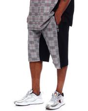 Makobi - Makobi Jersey Plaid Shorts (B&T)-2367307