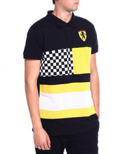 Short-Sleeve - Colorblock racing polo-2367337