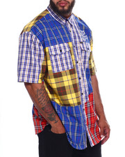 Makobi - Makobi Rich & Royal Plaid Shirt (B&T)-2367587