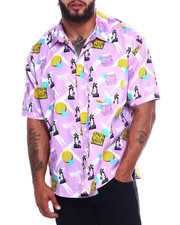 Button-downs - S/S Cotton Printed Woven (B&T-2367169