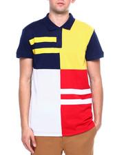 Shirts - Colorblock Stripe Polo-2367460