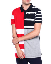 Short-Sleeve - Colorblock Stripe Polo-2367454