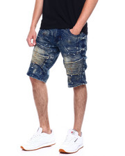 Buyers Picks - Splatter Moto Denim Short-2367534