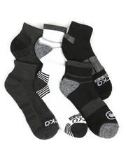 Ecko - 6 Pack Quarter Cushion Socks-2367690