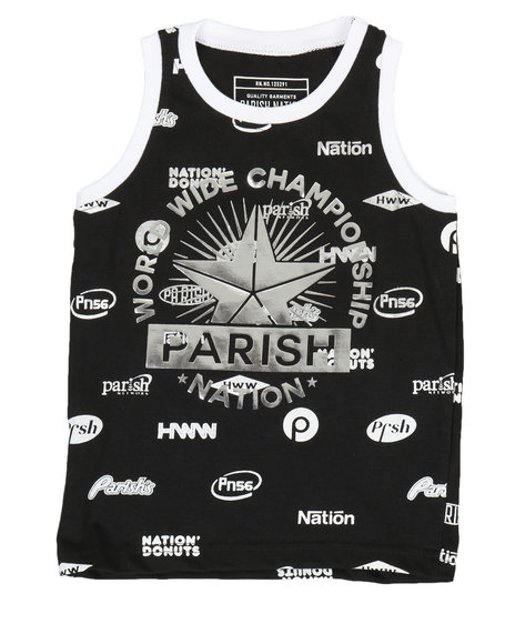 Parish - All Over Print Tank Top (2T-4T)