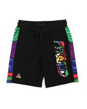 Sizes 8-20 - Big Kids - Britto Eyes Logo Shorts (5-18)-2366972