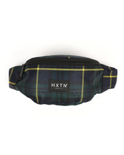 HXTN Supply - Forest Check Fanny Pack (Unisex)-2360241