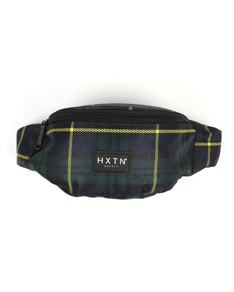HXTN Supply - Forest Check Fanny Pack (Unisex)