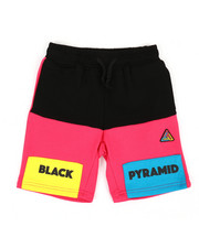Black Pyramid - Blocks Shorts (8-20)-2366979
