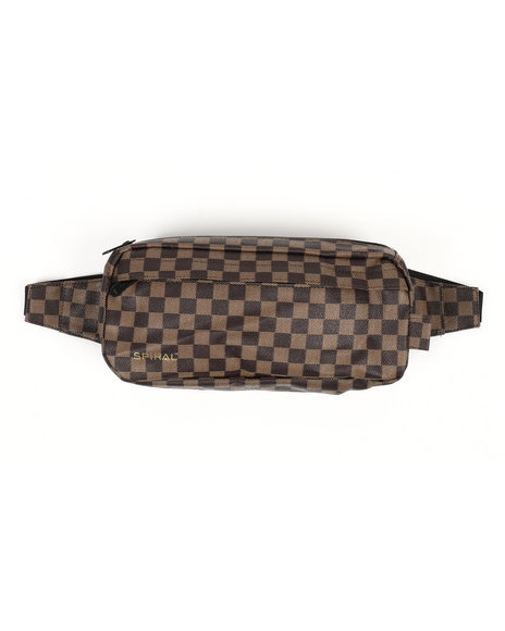 HXTN Supply - Broadway Check Crossbody Bag (Unisex)
