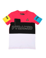 Sizes 8-20 - Big Kids - Blocks T-Shirt (5-18)-2366951
