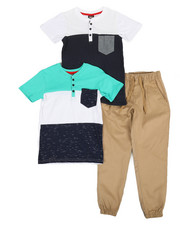 Sizes 8-20 - Big Kids - 3 Pc Knit Set (8-20)-2366738