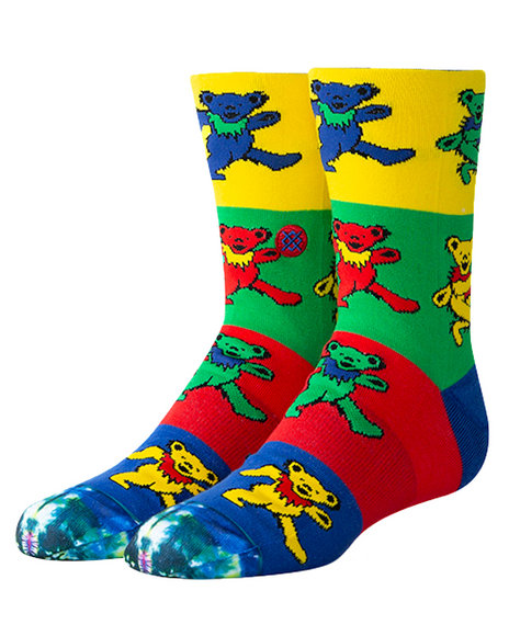 Stance Socks - Grateful Crew Socks (2-5.5)